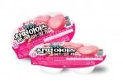 롯데제과, '찰떡아이스 하트딸기' 출시